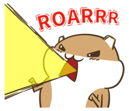 a hamster daily conversation sticker #6131554