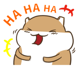 a hamster daily conversation sticker #6131568