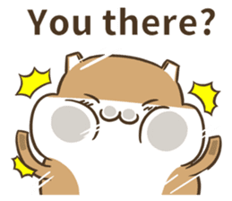 a hamster daily conversation sticker #6131570