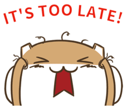 a hamster daily conversation sticker #6131578