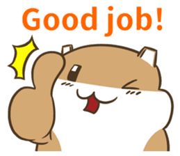 a hamster daily conversation sticker #6131583