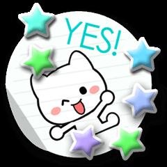 Cute White cat!!