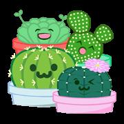 สติ๊กเกอร์ไลน์ Baby Cactus