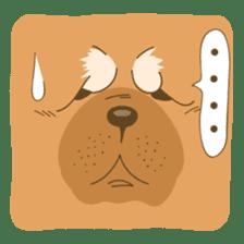 Chowchow Bruce sticker #6139711