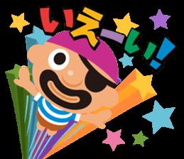 "KUROHIGE Pop Up Pirate"" sticker #6141553"