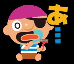 "KUROHIGE Pop Up Pirate"" sticker #6141555"