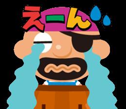 "KUROHIGE Pop Up Pirate"" sticker #6141589"