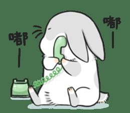 Machiko rabbit 2 sticker #6146434