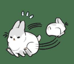 Machiko rabbit 2 sticker #6146435