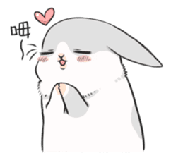 Machiko rabbit 2 sticker #6146437