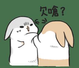 Machiko rabbit 2 sticker #6146438