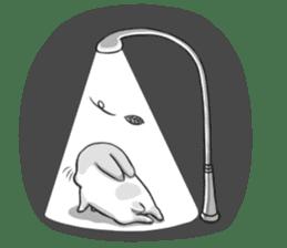 Machiko rabbit 2 sticker #6146440