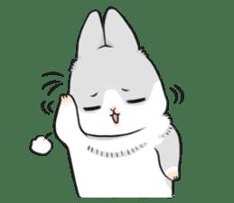 Machiko rabbit 2 sticker #6146442