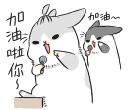 Machiko rabbit 2 sticker #6146443