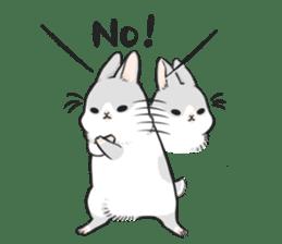 Machiko rabbit 2 sticker #6146445