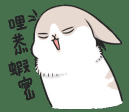 Machiko rabbit 2 sticker #6146451