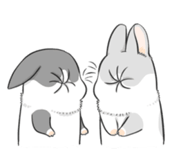 Machiko rabbit 2 sticker #6146453