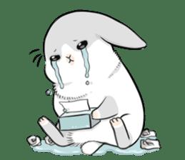 Machiko rabbit 2 sticker #6146461