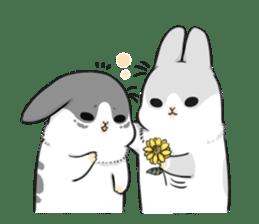 Machiko rabbit 2 sticker #6146462