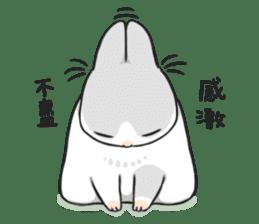 Machiko rabbit 2 sticker #6146463