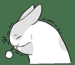 Machiko rabbit 2 sticker #6146465