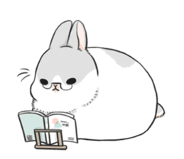 Machiko rabbit 2 sticker #6146466