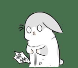 Machiko rabbit 2 sticker #6146467