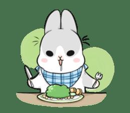 Machiko rabbit 2 sticker #6146470