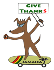 Madrass Jamaican patwa Dancehall sticker sticker #6147264
