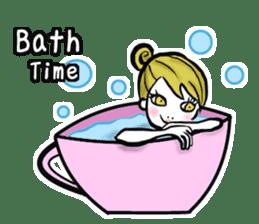 Girl's (English) sticker #6147546