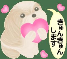 Shih Tzu. Honorific & polite language. sticker #6148844