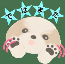 Shih Tzu. Honorific & polite language. sticker #6148871