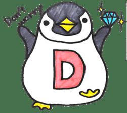 Penguin Alphabet&numbers sticker #6151579
