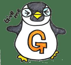 Penguin Alphabet&numbers sticker #6151582