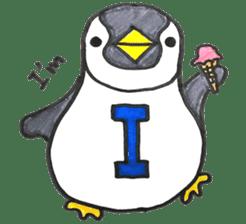 Penguin Alphabet&numbers sticker #6151584