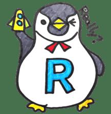 Penguin Alphabet&numbers sticker #6151593