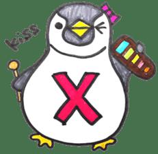 Penguin Alphabet&numbers sticker #6151599