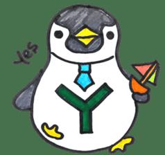 Penguin Alphabet&numbers sticker #6151600