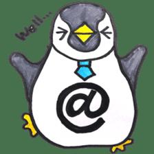 Penguin Alphabet&numbers sticker #6151603