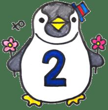 Penguin Alphabet&numbers sticker #6151606