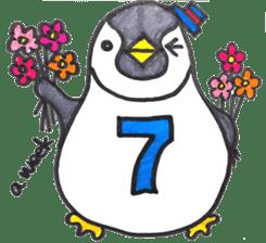 Penguin Alphabet&numbers sticker #6151611