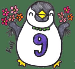 Penguin Alphabet&numbers sticker #6151613