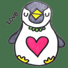 Penguin Alphabet&numbers sticker #6151614