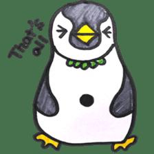 Penguin Alphabet&numbers sticker #6151615