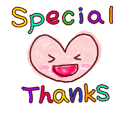 Crayon graffiti~Words frequently used~ sticker #6152138