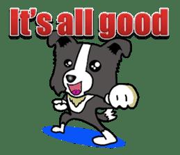 I Love Border Collie 4 sticker #6152994