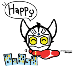 Ultraman Baby sticker #6167908