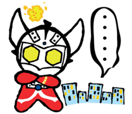 Ultraman Baby sticker #6167916