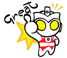 Ultraman Baby sticker #6167930