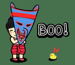 Tang-Gwa & friends (Thai Kid Ver.Eng) sticker #6169064